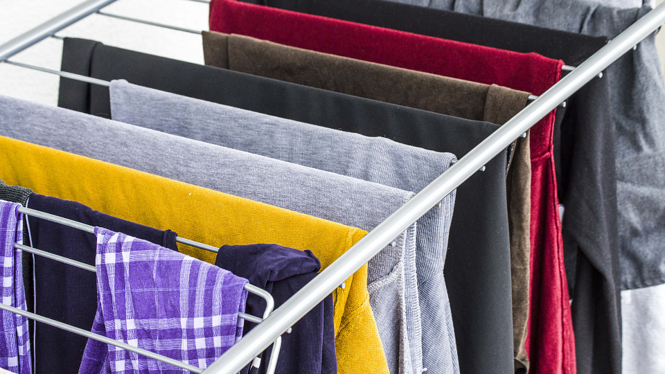 Condensation Tip - Use one room to dry clothes with the window open slightly and the door closed.
