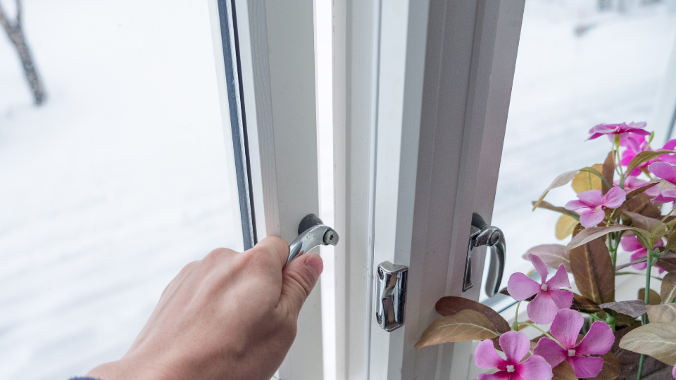 Condensation Tip - Open windows when cooking or running a bath.