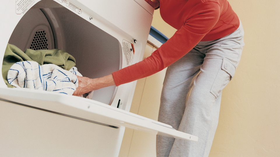 Condensation Tip - f you use a tumble dryer, make sure it's vented to the outside unless it's a condenser dryer.