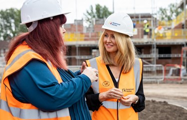 Esther McVey MP visits South Liverpool Homes' newest community