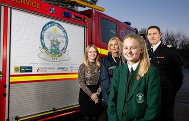 Local student helps launch Smoke Free Homes project in South Liverpool