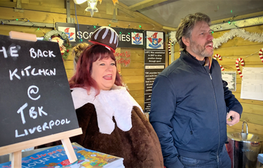 Our CEO goes head to head with John Bishop in charity pie challenge!