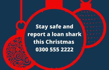 Festive warning: Don't get involved with a loan shark – yule regret it!