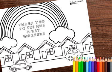 Kids Colouring Competition: Make rainbows for the NHS and win!