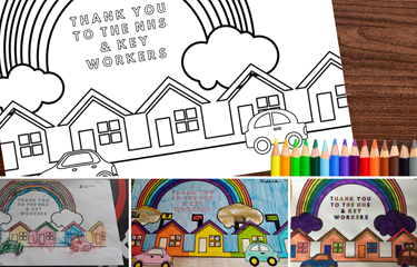 Colouring competition winners announced
