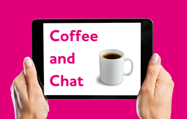 Coffee & Chat goes virtual thanks to STEC and the #LCRCares initiative