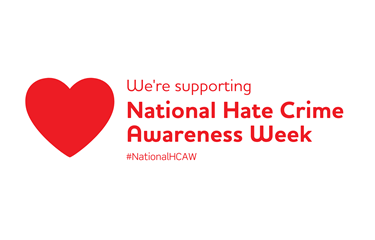 SLH #SpreadLoveNotHate on National Hate Crime Awareness Week